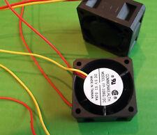 Ventilador 5 voltios 40mm 5 VDC ventiladores refrigeración 40x40x20mm cables FP108G/DC5VS1S X 3 un. Ono
