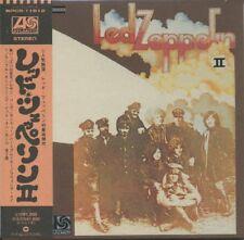 LED ZEPPELIN Led Zeppelin II (1969) Japan Mini LP CD WPCR-11612
