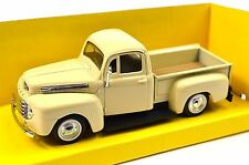 FORD F-1 PICKUP 1948 1:43 NEW 94212 CREAM LUCKY ROAD SIGNATURE