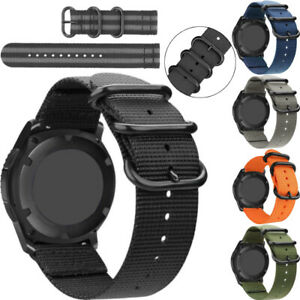 24mm Universal Canves&Nylon Wrist Watch Band Strap Sport Belt Quick Release New