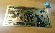 EVANGELION ANIME GOLD BILLET 5DD FAN CARD YEN MANGA CARTE CARDDASS Shinji Ikari