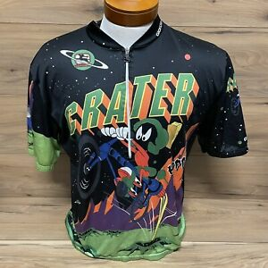 Giordana Cycling Jersey Looney Tunes Marvin Martian Bugs Bunny Large? Defects