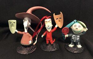 Nightmare Before Christmas Lock Shock & Barrel Christmas Ornament Set