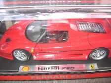 FERRARI F50 Red 1995 SHELL Limited Edition 1:18 MAISTO OVP & NEW!