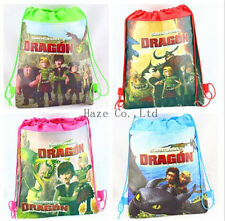 How to Train Your Dragon Backpack Kids Swimming Environmental Drawstring Bag UU*