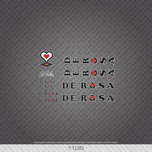 01126 De Rosa Bicycle Stickers - Decals - Transfers