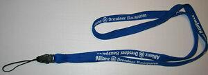 Allianz Dresdner Bausparen Handyband Lanyard NEU (A26)