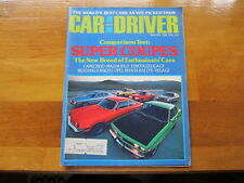 Car and Driver May 1974, The World's Best Cars As You Picked Them