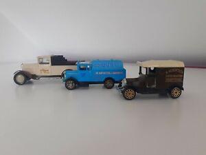 Vintage toy car bundle Corgi, Morris truck, Citroën Ford Diecast