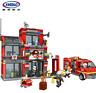 Xingbao Feuerwache Spielzeug Modell Rettung Baukästen Toys Bausteine DIY 1245PCS