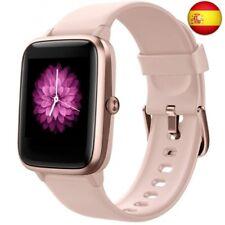 Reloj Inteligente Mujer,Smartwatch Hombre Impermeable IP68 Pulsera Pink (Pink)