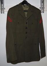 USMC US Marine Corps Private E-2 Dress Alpha Jacket Military Coat 39 R