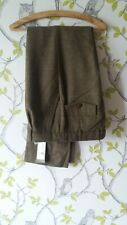 """Laksen Thrie Estaits Moy Tweed Trousers With Tags 36"""" Waist & Inside Leg 33 1/2"""""""