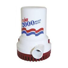 RULE Heavy Duty Bilge Pump - 2000 GPH 12V