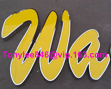 NEW Custom size LED Frontlit Channel Letter Sign Decor Vintage Neon shop sign Wa
