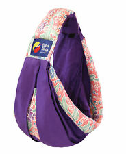 New Baba Sling Baby Carrier Boutique Purple Pink Batik