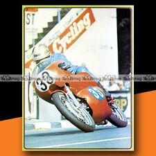 ★ GILBERTO MILANI ★ Tourist Trophy 1967 Mini Poster Moto / Photo #MP28