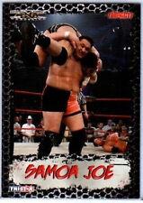 TNA Samoa Joe 2008 Impact Gold Parallel Card 41 of 50