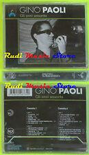 2 mc GINO PAOLI Gli anni sessanta SIGILLATA 1994 italy BMG 74321248764 cd lp dvd