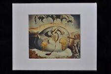 Salvador Dali impresión niño mirando el nacimiento de un nuevo hombre 1943 Arte Foto