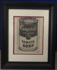 """Andy Warhol Signed """"Campbell's Tomato Soup"""" VIP Print, COA, 1968"""