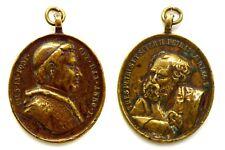 Medaglia Papale Pio IX Pont. Opt. Max. Anno I – Tues Petrus Et Super H. Petram