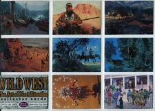 The Wild West 72 Card Set  Artwork by Mort Kunstler 1996 Comic Images