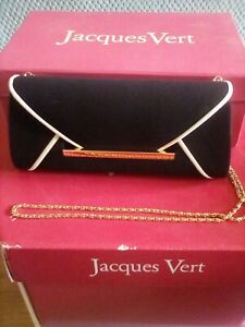Jacques Vert Envelope Shoulder/Cluth Handbag MOTB