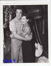 Gene Kelly hugs Gloria De Haven VINTAGE Photo Summer Stock candid on set
