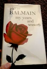 Pierre Balmain Fashion Designer Autobiography Rare Out Of Print 1964 U.K. Import