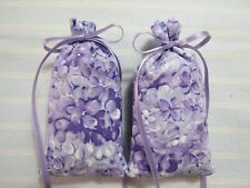 "Lavender 4""X2"" Sachet-'True Lilac' Fragrance-Packed Lilac Flowers-Handmade-545"