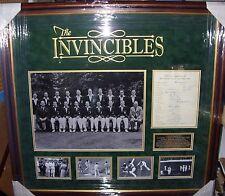 "Don Bradman Australian Cricket ""Invincibles� 1948 Signed Display Aftal"