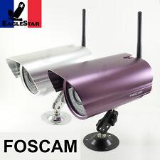 Caméra IP WiFi exterieure etanche Foscam FI8905W leds IR Freebox Livebox Neufbox