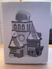 Dept 56 North Pole Village - Weather & Time Observatory 56385 Retired Brand New