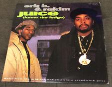 "Eric B and Rakim Juice Know The Ledge 12"" Vinyl Single 1992 MCA Records US"