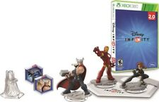 NEW Xbox 360 Disney Infinity Marvel Super Heroes 2.0 Edition Starter Pack Bundle