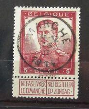 Belgium 1912 5f Purple VFU