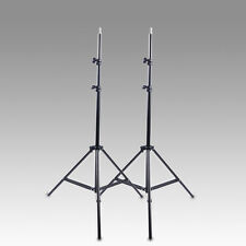 New Studio Photography Video 7ft Light Stand x 2 200cm 2m