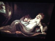 "Henry Fuseli ""The Succumbus 1791"" German Romantic Art 35mm Glass Slide"