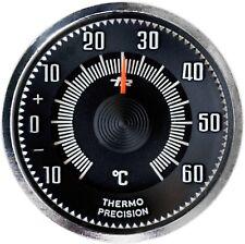 1960er Relief Bimetall Thermometer JUSTIERBAR + Magnethalter HR Art. 4670
