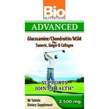 Bio Nutrition - Avancé Glucosamine/ Chondroïtine/ Msm - 90 Comprimés