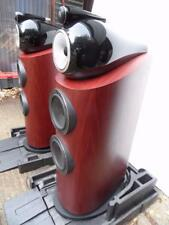 B&W 802 D3 speakers  pair with original boxes,