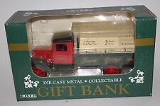 Ertl Gift Bank; Die Cast Metal; 1993 Season's Greetings