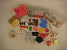 Barbie Ken Accessories Shoes Panties Records Books Sunglasses Purse Trays Hat