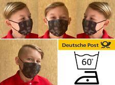 Kinder Maske Camouflage Nase Mundmaske Gesichtsmaske Behelfsmaske Mundschutz