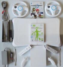 Nintendo Wii Konsole mit 2x Remote, 2x Nunchuck, Balanceboard mit Mario Kart ..