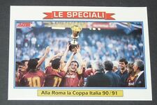 434 COPPA 90/91 AS ROMA FOOTBALL CARD 92 1991-1992 CALCIO ITALIA SERIE A