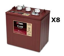 8x Trojan T105 Batterie à décharge profonde