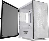 darkFlash DLM21 Mesh White MATX/Mini-ITX/MicroATX Tower Gaming Computer Case