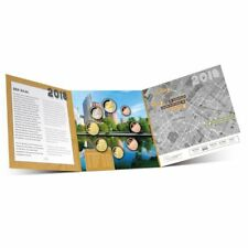 """2018 Netherlands 8-Coin Standard Brilliant Uncirculated Coin Set """"The Hague"""""""